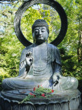 Buddha Statue (1790), Japanese Tea Gardens, Golden Gate Park, San Francisco, California, USA Photographic Print by Fraser Hall