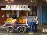 In the Latin Quarter of Panaji Formerly Known as Panjim, Goa, India Photographic Print by Robert Harding