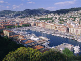 The Harbour, Nice, Alpes Maritimes, Cote d&#39;Azur, Provence, France, Europe Photographic Print by Guy Thouvenin