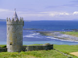 Doonagoore Castle, County Clare, Munster, Republic of Ireland (Eire), Europe Photographic Print by Graham Lawrence