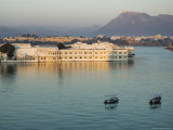 The Lake Palace Hotel on Lake Pichola, Udaipur, Rajasthan, India Photographic Print by Robert Harding