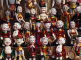 Wooden Water Puppets, North Vietnam, Vietnam, Indochina, Southeast Asia, Asia Photographic Print by Doug Traverso