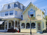 Oak Bluffs, Martha's Vineyard, Cape Cod, Massachusetts, USA Photographic Print by Fraser Hall