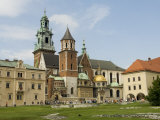 Wawel Catherdral, Royal Castle Area, Krakow (Cracow), Unesco World Heritage Site, Poland, Europe Photographic Print by Robert Harding