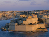 Fort St. Elmo, Valetta (Valletta), Malta, Mediterranean, Europe Photographic Print by Sylvain Grandadam