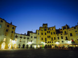 Piazza Anfiteatro, Lucca, Tuscany, Italy, Europe Photographic Print by Jean Brooks