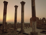 Roman Ruins, Volubilis, Morocco, North Africa, Africa Photographic Print by Simon Harris