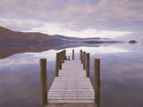 Barrow Bay Landing Stage, Derwent Water, Lake District, Cumbria, England, UK Photographic Print by Neale Clarke