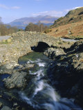 Ashness Bridge, Borrowdale, Lake District National Park, Cumbria, England, UK Photographic Print by Neale Clarke