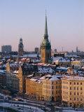 City Skyline, Stockholm, Sweden, Scandinavia, Europe Photographic Print by Sylvain Grandadam