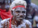 Aborigine Man, Australia Photographic Print by Sylvain Grandadam
