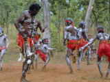 Aboriginal Dance, Australia Photographic Print by Sylvain Grandadam