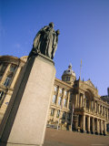 Statue of Queen Victoria and Council House, Victoria Square, Birmingham, England, UK, Europe Photographic Print by Neale Clarke