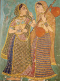 Wall Painting in the Palace, Bundi, Rajasthan, India, Asia Photographic Print by Bruno Morandi