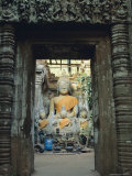 Buddha, Wat Phu, Champasak, Laos, Asia Photographic Print by Bruno Morandi