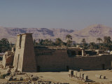 Khonso Temple, Karnak, Thebes, Egypt, North Africa, Africa Photographic Print by John Ross