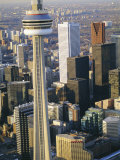 Cn Tower and Skyline of Toronto, Ontario, Canada Photographic Print by Sylvain Grandadam