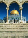 The Dome of the Rock, Temple Mount, Old City, Jerusalem, Israel, Middle East Photographic Print by Sylvain Grandadam