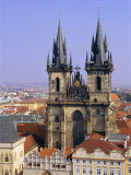 Church of Our Lady Before Tyn, Old Town Square, Prague, Czech Republic, Europe Photographic Print by Neale Clarke
