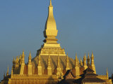 Pha That Luang, Vientiane, Laos, Asia Photographic Print by Bruno Morandi