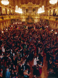 Philharmoniker Ball (Winter Ball), Auersberg Palace, Vienna, Austria Photographic Print by Sylvain Grandadam