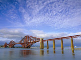 Forth Railway Bridge Over the Firth of Forth, Queensferry Near Edinburgh, Lothian, Scotland, UK Photographic Print by Neale Clarke