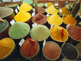 Spices, Grand Bazaar, Istanbul, Turkey, Eurasia Photographic Print by Sylvain Grandadam
