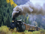 Steam Train, Durango &amp; Silverton Railroad, Silverton, Colorado, USA Photographic Print by Jean Brooks