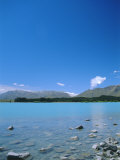 Lake Tekapo, Mount Cook National Park, Canterbury, South Island, New Zealand Photographic Print by Neale Clarke