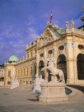 Belvedere, Castle, Vienna, Austria Photographic Print by Sylvain Grandadam