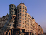 Fred and Ginger Building, Prague, Czech Republic, Europe Photographic Print by Neale Clarke
