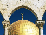 Dome of the Rock, Mosque of Omar, Temple Mount, Jerusalem, Israel, Middle East Photographic Print by Sylvain Grandadam