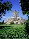 Tewksbury Abbey, Tewksbury, Gloucestershire, England, UK, Europe Photographic Print by David Hunter