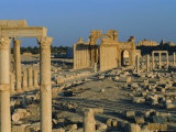 Palmyra, Ruins of Roman City, Syria, Middle East Photographic Print by Sylvain Grandadam