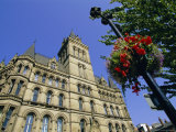 Town Hall and St. Peters Square, Manchester, England, UK, Europe Photographic Print by Neale Clarke
