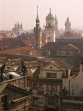 Klementinum Rooftop View (Former Library), Krizovnicke Namesti, Prague, Czech Republic, Europe Photographic Print by Neale Clarke
