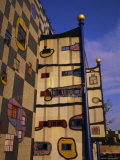Hundertwasser's Incinerator, Vienna, Austria, Europe Photographic Print by Jean Brooks