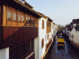 Canal in Suzhou, China Photographic Print by Sylvain Grandadam