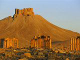 The Archaeological Site and Arab Castle, Palmyra, Unesco World Heritage Site, Syria, Middle East Photographic Print by Sylvain Grandadam