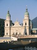 Salzburg Cathedral, Salzburg, Austria Photographic Print by Ken Gillham