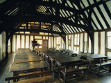 Interior of Schoolroom Where William Shakespeare was Educated, England, UK Photographic Print by Peter Scholey