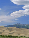 Great Sand Dunes National Monument and Sangre De Cristo Mountains, USA Photographic Print by Nedra Westwater