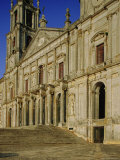 The Main Facade of the Monastery, in Marble Dating from 1717-1730, Mafra, Estremadura, Portugal Photographic Print by Nedra Westwater