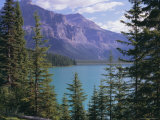 Emerald Lake, Yoho National Park, Unesco World Heritage Site, British Columbia (B.C.), Canada Photographic Print by Robert Harding