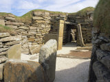 Skara Brae, Orkney Islands, Scotland Photographic Print by Richard Ashworth
