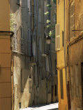 Narrow Sunlit Street in Old Aix, Provence-Alpes-Cote-D'Azur, France Photographic Print by Ruth Tomlinson