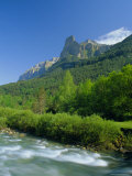 Towering Cliffs Above the River Arazas, Ordesa National Park, Huesca, Aragon, Spain Photographic Print by Ruth Tomlinson