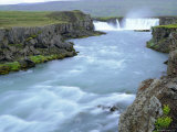 Godafoss or Fall of the Gods, Iceland Photographic Print by Pearl Bucknell