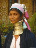 Padaung Woman, Myanmar (Burma) Photographic Print by Anthony Waltham