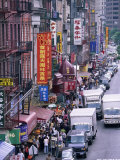 Chinatown, Manhattan, New York, New York State, United States of America, North America Photographic Print by Yadid Levy